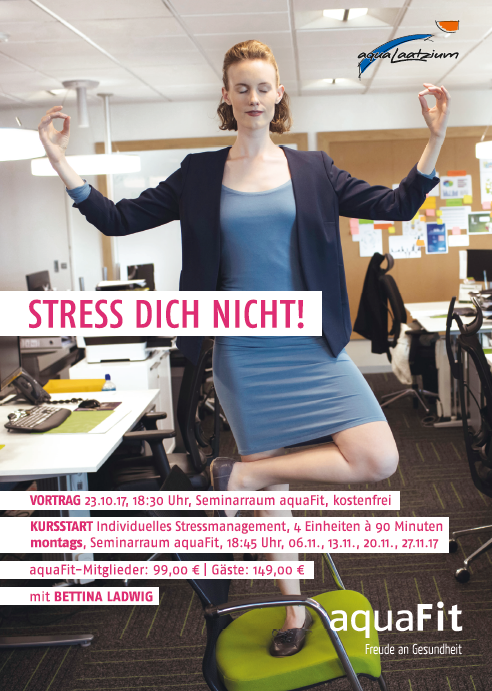 Workshop: Individuelles Stressmanagement